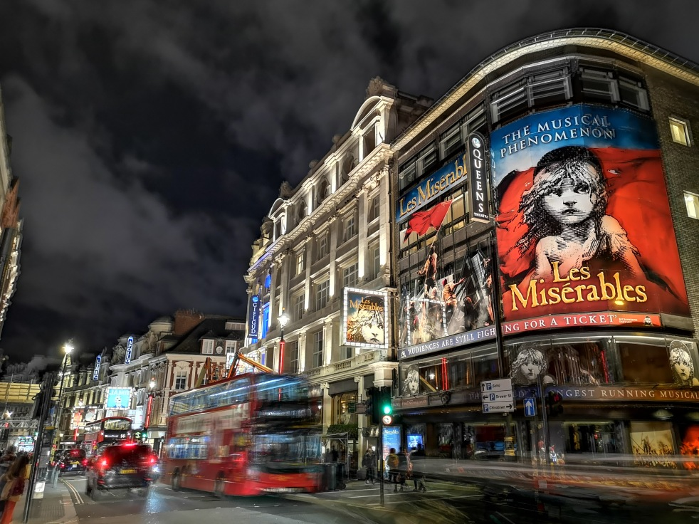 london soho piccadilly les miserables