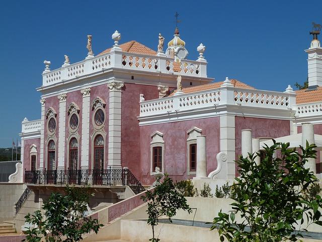 palazzo estoi faro portugal