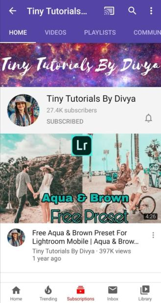 Tiny Tutorials By Divya